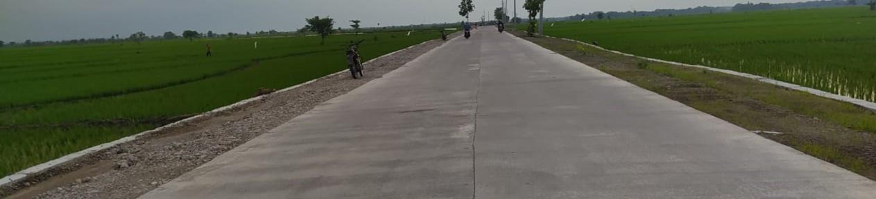 Peningkatan Jalan Rigid/Beton<BR>Ruas Jalan Kabupaten Bojonegoro
