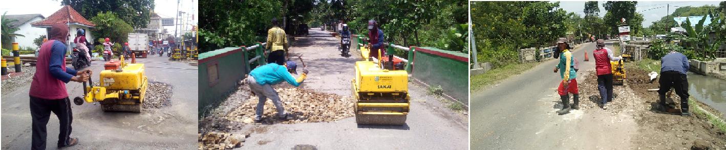 Pemeliharaan Rutin Jalan<BR>UPT Bina Marga